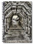 Partington Cove Tunnel By Diana Sainz Spiral Notebook