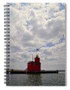 Partly Cloudy Spiral Notebook