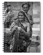 Partners Bw Spiral Notebook