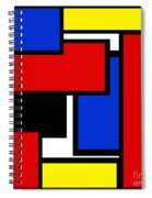 Partridge Family Abstract 1 C Square Spiral Notebook