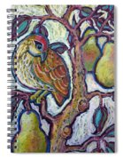 Partridge In A Pear Tree 1 Spiral Notebook
