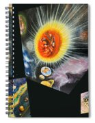 Parts Of Universe Spiral Notebook