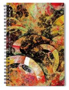 Party Spiral Notebook