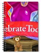 Party Bear Spiral Notebook
