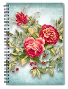 Party Of Flowers  Spiral Notebook