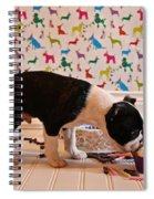 Party On Puppy Spiral Notebook