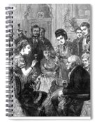 Party Toast, 1872 Spiral Notebook