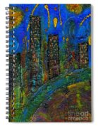 Party Town Spiral Notebook