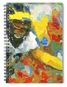 Pass Block In Color Spiral Notebook