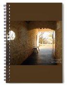 Passageway At Monticello Spiral Notebook