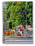 Passenger Cars Only - Central Park Spiral Notebook