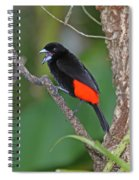 Passerini's Tanager Spiral Notebook