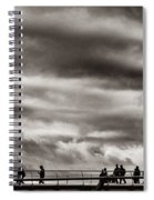 Passing Clouds Spiral Notebook