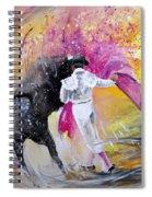 Passing Pink Spiral Notebook
