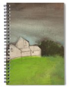 Passing Storm Spiral Notebook