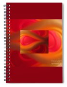 Passion Abstract 02 Spiral Notebook