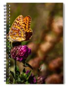 Passion Butterfly Spiral Notebook