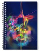 Passion Nectar - Circling The Flower Of Paradise Spiral Notebook