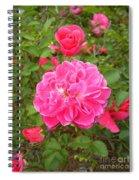 Passionate Pink Springtime Spiral Notebook
