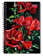Passionately Red  Spiral Notebook