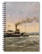 Past On The Medway Spiral Notebook