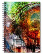 Past Or Future? Spiral Notebook