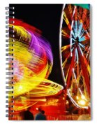 Past Sunset Midway Spiral Notebook