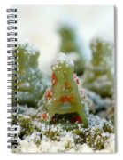 Pasta Christmas Trees Spiral Notebook