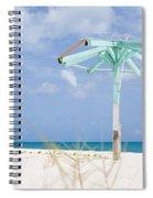 Pastel Beach Frame Spiral Notebook