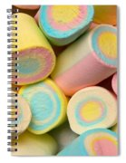 Pastel Colored Marshmallows Spiral Notebook
