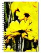Pastel Flowers Spiral Notebook