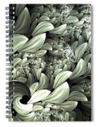 Pastel Garden Abstract Spiral Notebook