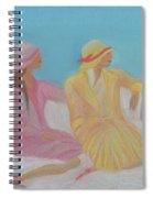 Pastel Hats By Jrr Spiral Notebook