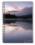 Pastel Morning Mist Spiral Notebook
