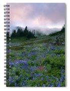 Pastel Mountain Dawn Spiral Notebook