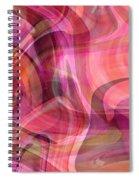 Pastel Power- Abstract Art Spiral Notebook