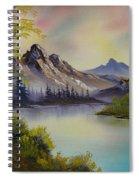 Pastel Skies Spiral Notebook