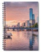 Pastel Sunset Spiral Notebook