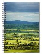 Pastoral Fields, Near Clonea, County Spiral Notebook