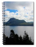Pastoral Scene By The Ocean Spiral Notebook