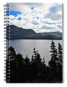 Pastoral Scene By The Ocean Panorama Spiral Notebook