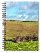 Pasture Land - Dorset Spiral Notebook