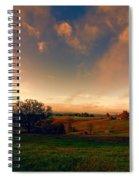Pastureland Spiral Notebook