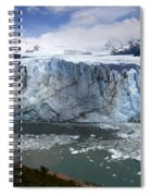 Patagonia Glaciar Perito Moreno 4 Spiral Notebook