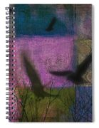 Patched Quilt Spiral Notebook