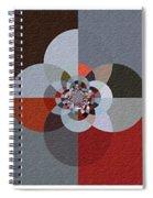 Patchwork Craze - Abstract - Triptych Spiral Notebook