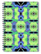 Patchwork Featherbed Quilt Spiral Notebook