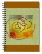 Patchwork I Spiral Notebook