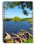 Pateira Boats Spiral Notebook