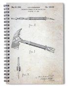 Patent - Fire Axe Spiral Notebook